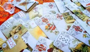 Cross Lenormand Reading