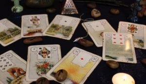 daily reading Lenormand