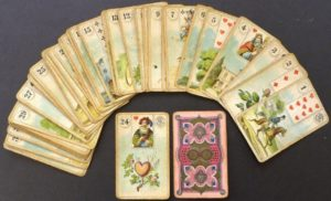 lenormand cards reading